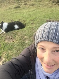 Me and Skye on Kingley Vale x
