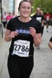 Me running!