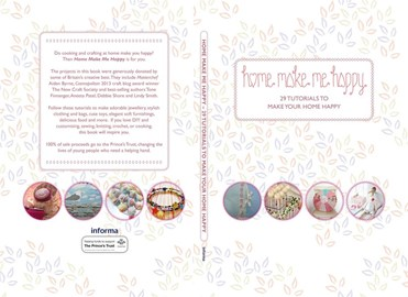 Front and back cover of our book