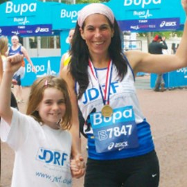 Last years medal winners for JDRF - it's going to be Libby, Fiona and Theresa this year! :) x