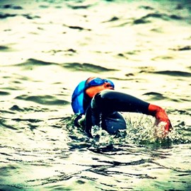 1st River Thames Wild Swim 2013