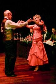 charming ballroom dancers
