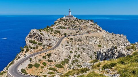 Final Stretch of Cap Formentor