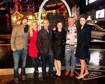 The InSeine Team at the premiere of The Theory of Everything