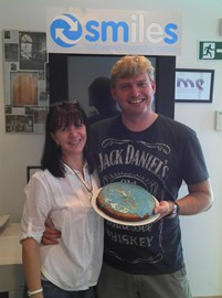 Sara and Mark on #CakeFriday
