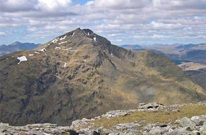 Ben Lui. One of the munros we will climb