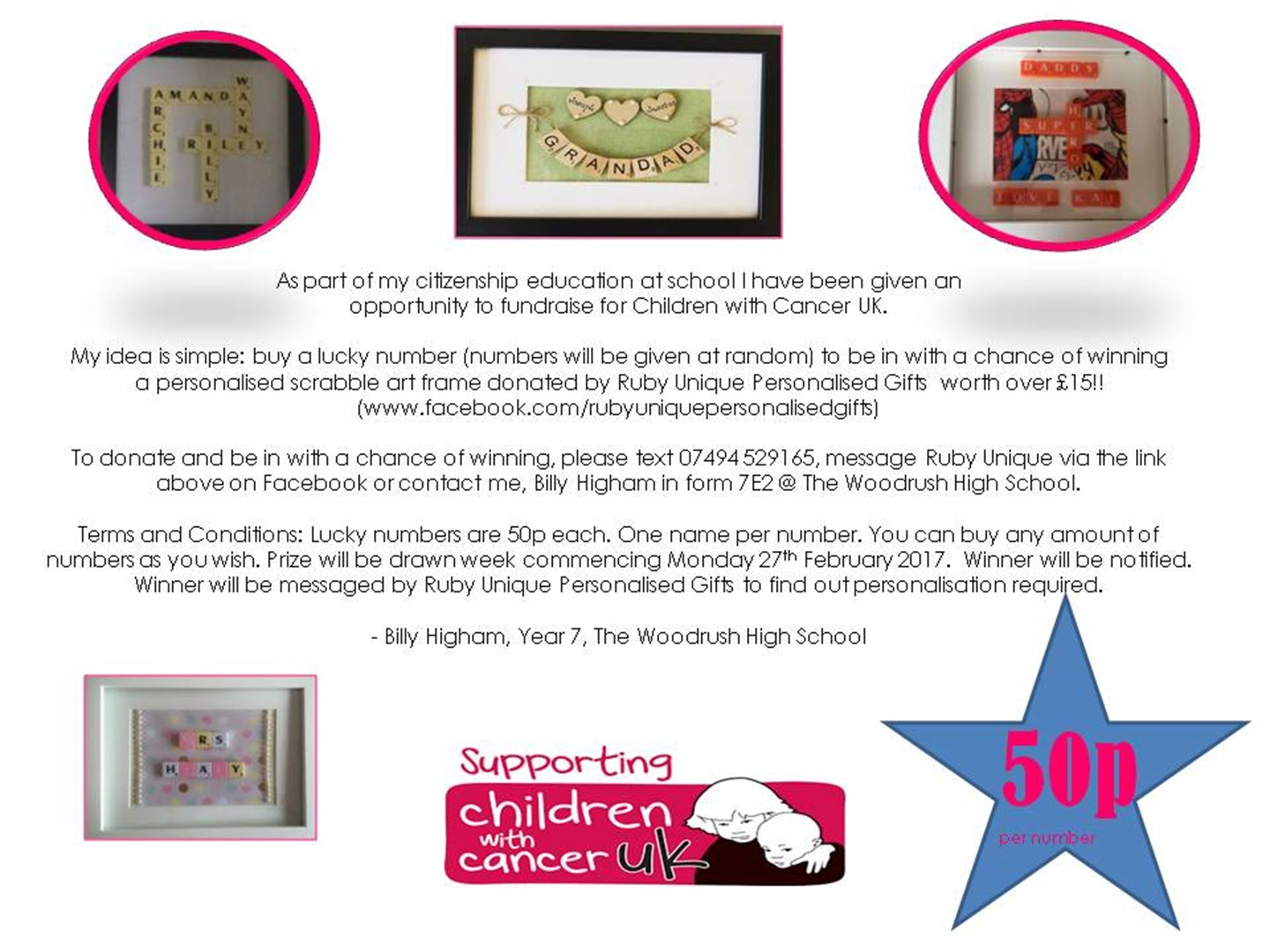 Amanda Higham is fundraising for Children with Cancer UK