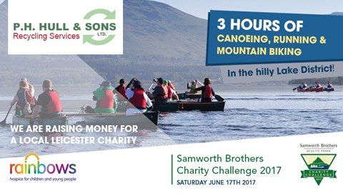 P H Hull & Sons - Samworth Brothers Charity Challenge 2017