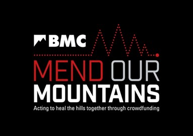 I'm fundraising for the BMC's Mend Our Mountains campaign