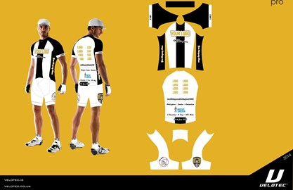 Proposed Notts County cycling kit design