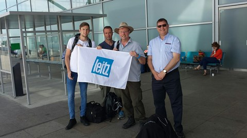 The guys make their way the Glasgow for the Three Peaks Challenge 11.30am 03/07/2015