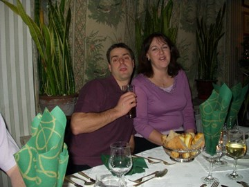 Alan and me in 2004