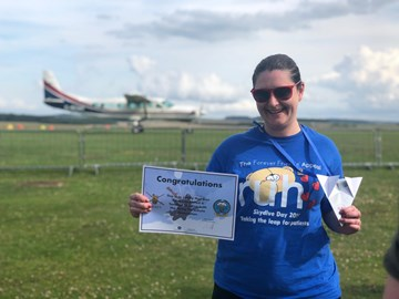 Ali's Skydive - Sunday 7th July 2019