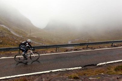 Training at the Bealach Mor on Saturday