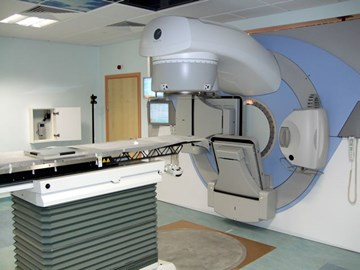 1 of two £1.3m Radiotherapy machines