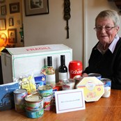 Christmas will be hard for farmer's widow Kay this year. A hamper let's her know we care.