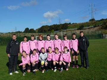 Sheffield Rangers U14's Oct '12