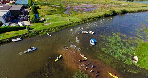 River Avon Bantham Swoosh