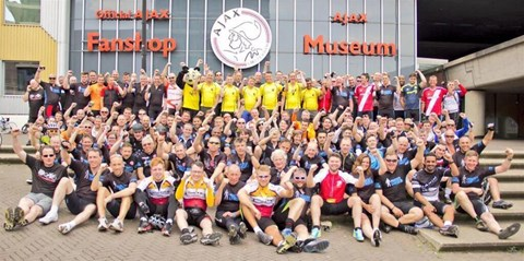 Finish Line in Amsterdam!