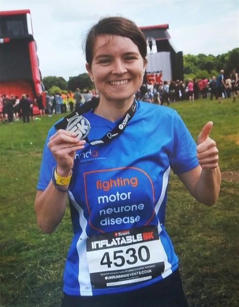Vicky paeschel is fundraising for motor neurone disease for Motor neurone disease support