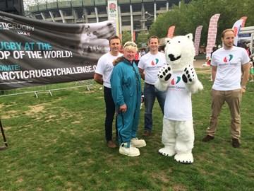 Arctic Rugby goes to Twickenham