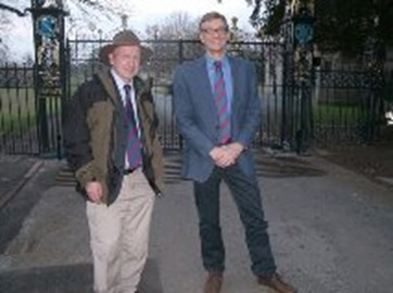 Andrew Wright FRGS and President of the RGS Nick Crane
