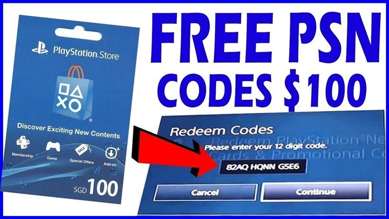 free psn code generator no human verification
