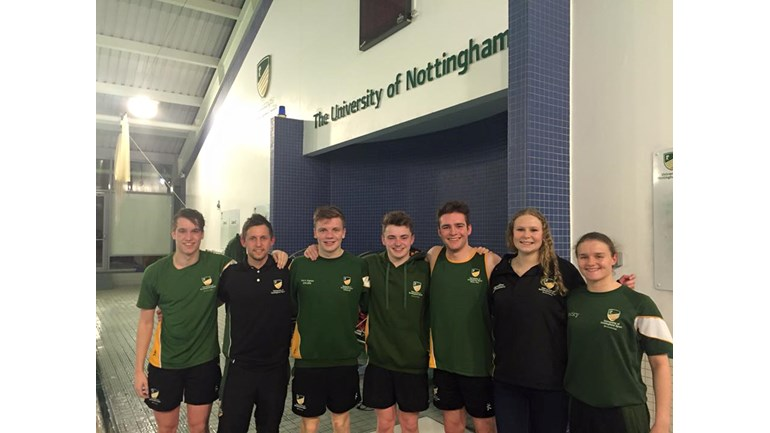 Nottingham University Two Way Channel Swim Is Fundraising For Teenage Cancer Trust