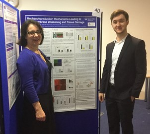 Developing ways to improve amniotic membrane healing after trauma. David Barrett presents his research at the RCOG Academic meeting February 2018