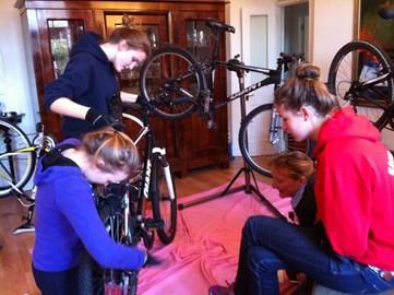 Embarking on a 7 hour bike maintenance course