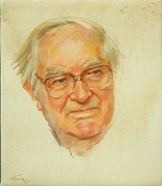 John Amis, Portrait by June Mendoza AO OBE