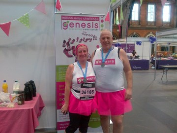 BCL Managing Director Rod & wife Ange after running for Genesis