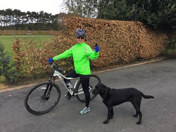 Training 24 miles !