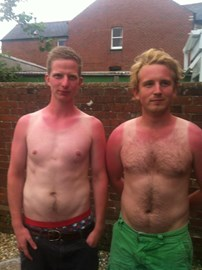 Must wear sun cream this time!