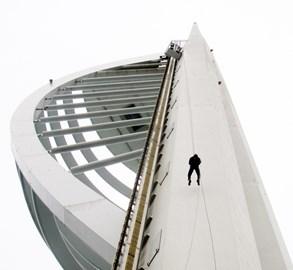Spinnaker tower Abseil