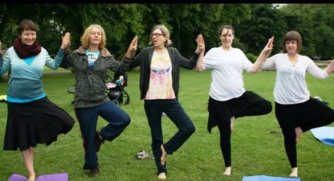 Yoga in the park 2014 - 2