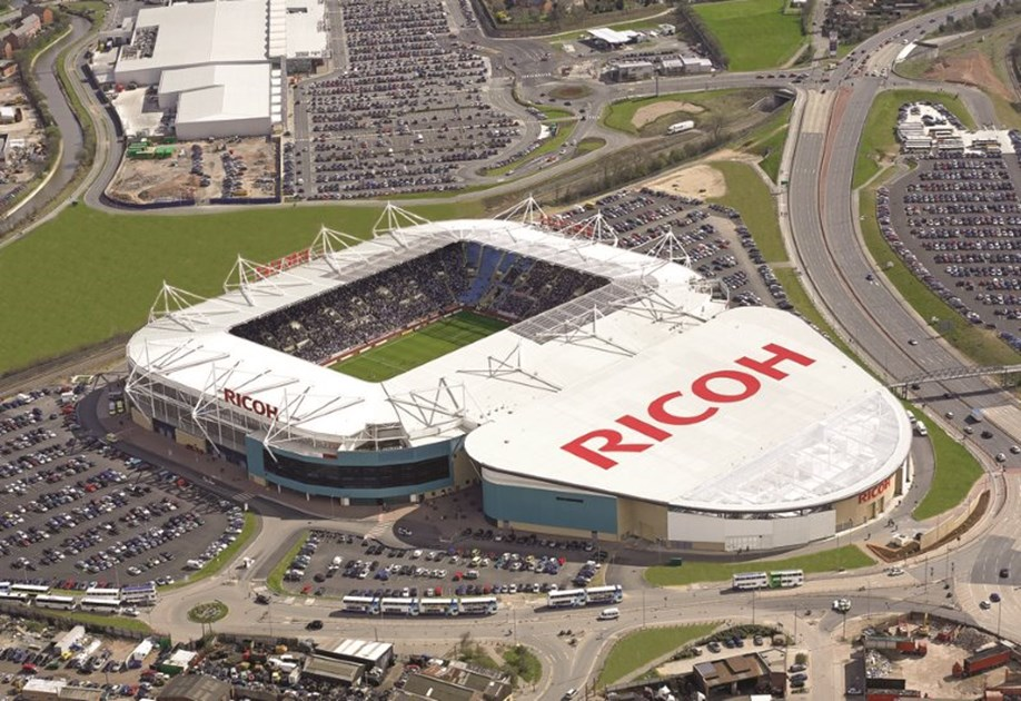 Exhibition Stand Warwickshire : Ricoh arena is fundraising for memusi foundation