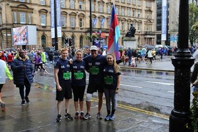 2017 Glasgow 1/2 Marathon - Wet, Wet, Wet