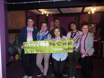 Teens with Natalie Cassidy