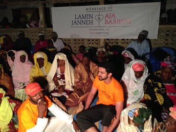 Marriage of Lamin & Aja in The Gambia