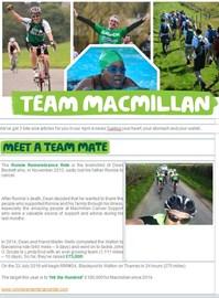 Macmillan Meet a Teammate !