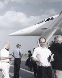 Boarding Concorde