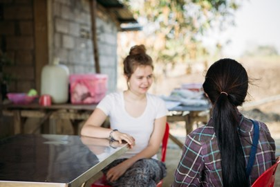 I spoke to young girls in Cambodia who had lost their siblings to trafficking. They hoped for a different future for themselves.