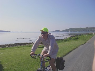 a velo in the hebrides