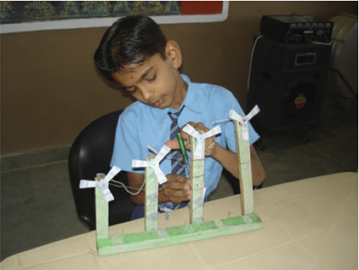 Mohammed Riyaz is a budding engineer