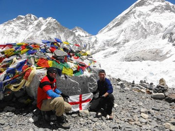 Everest Base Camp, 5308m
