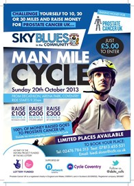 Man Mile Cycle Flyer