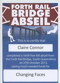 Claire's Certificate