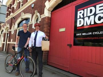 Robin Morris and Dave Mellor
