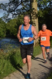 First (semi) competitive run this year. 5k around Bolton Abbey